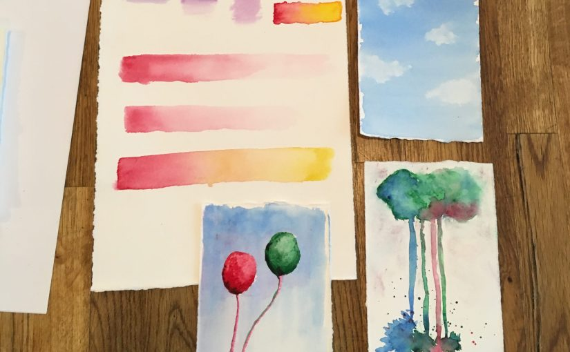 Student Gallery | ExperimentalWatercolors